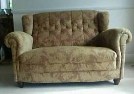 2 seater button back Sofa & chair