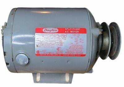 Dayton Split Phase A.c. Electric Motor Model 5k907a 14 Hp 115 Volts 1725 Rpm