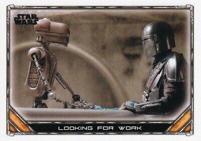 2020 Star Wars The Mandalorian Season 1 #56 Looking for Work