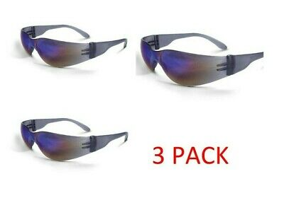 Combo Pack Safety Glasses Mirage Radans-rainbow Mirror Lens