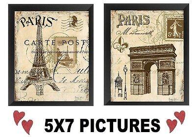 Paris France Tower - 💗 Paris France Pictures 5x7 Wall Hangings Decor Eiffel Tower