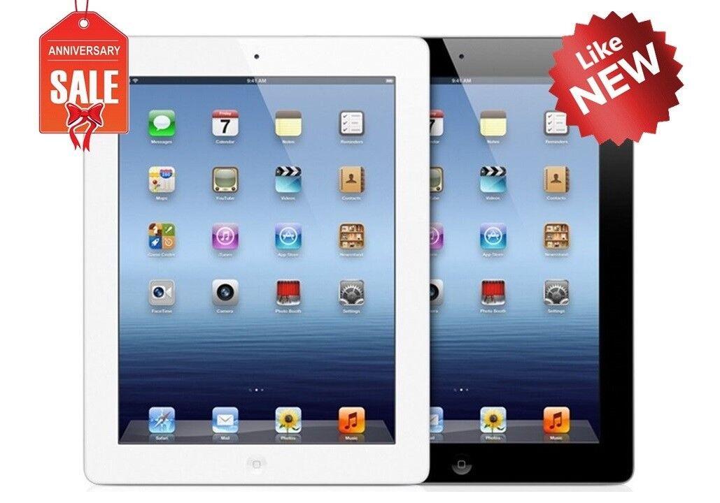 Apple iPad 2nd WiFi + GSM Unlocked | Black or White | 16GB 32GB 64GB I GREAT