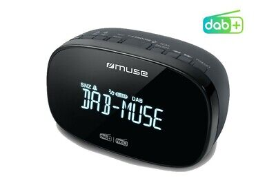 MUSE M-150 CDB Micro Radiosveglia DAB+ / FM RDS Doppio allarme 20 Preset