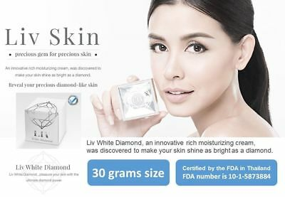 Liv White Diamond skin care cream serum Best face whitening anti aging +