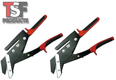 2 x TSF 35mm Professional Slate Cutters with Hole Punch - Free Post Edma Pattern