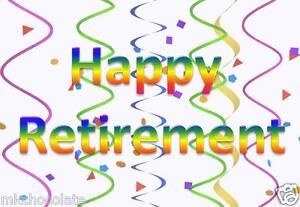 Happy Retirement Cake Topper Uk