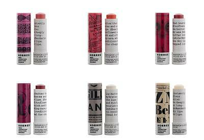 Mandarin Lip Balm - Korres Mandarin Lip Butter Stick  Balm Spf Sun Protection All Colours Brand New!