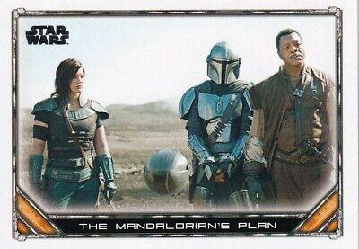 2020 Star Wars The Mandalorian Season 1 #85 The Mandalorian's Plan
