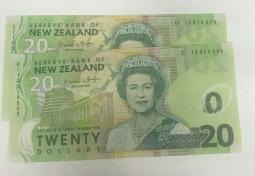 NEW ZEALAND 2002  $20.00 DOLLARS X 1  SCARCE AND GEM UNCIRCULATED