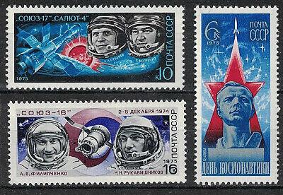 RUSSIA, USSR:1975 SC#4309-11 MNH Cosmonauts' Day