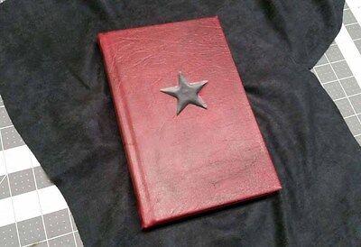 Hydra Soviet Red Code Book Replica (Inspired by Captain America Civil War)