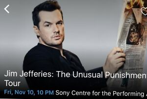 Jim Jefferies - Nov 10, 10pm Show