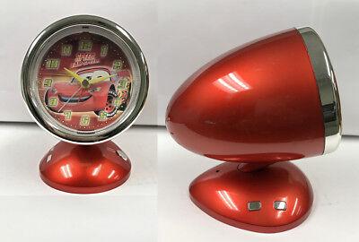 Disney Pixar Cars Lightning McQueen Speed I Am Speed Collectible Alarm Clock Toy