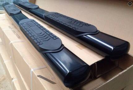 #950B Stainless Side Step Volkswagen Amarok Double Cab 10-15 BLK Greenacre Bankstown Area Preview