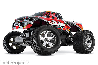 Traxxas Stampede Electric RC 2.4Ghz Truck With XL-5 ESC Batt/Charger TRA360541 Stampede Rc Truck