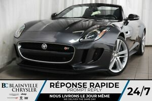 2014 Jaguar F-TYPE *RARE* F-TYPE V8 S SUPERCHARGED + CONVERTIBLE
