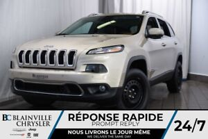 2014 Jeep Cherokee Limited+CAM RECUL+CUIR+CRUISE CONTROL ADAPT.+