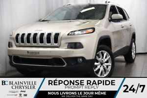 2014 Jeep Cherokee 72$/SEM+LIMITED+CUIR+CRUISE CONTROL ADAPT.+
