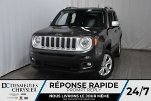 2018 Jeep Renegade Limited * Bouton Start * Cam. Recul * GPS * A