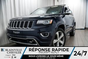 2014 Jeep Grand Cherokee 104$ SEM+Overland+CUIR+GPS+TOIT OUVRANT