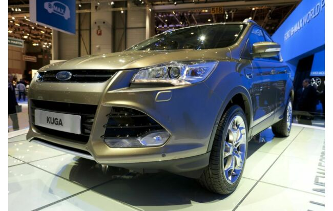 Neuer Ford Kuga am Ford-Stand