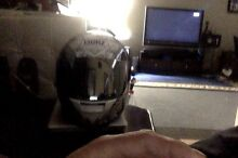 SHOEI MOTORBIKE HELMET XR-1000 XS  BLACK/WHITE UNDROPPED!!! South Hurstville Kogarah Area Preview