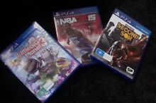ps4 games-Littlebigplanet 3, NBA2K15, Infamous Second Son Bedford Bayswater Area Preview