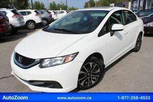 Honda Civic 2015 EX **SUNROOF** FINANCEMENT FACILE !!