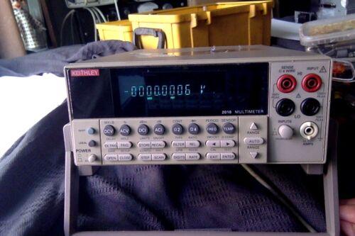 Keithley 2010 multimeter