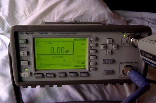 Agilent E4416A power meter & E9322A sensor