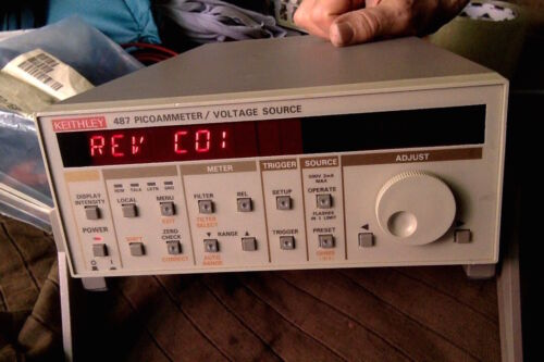 Keithley 487 Picoammeter / Voltage source