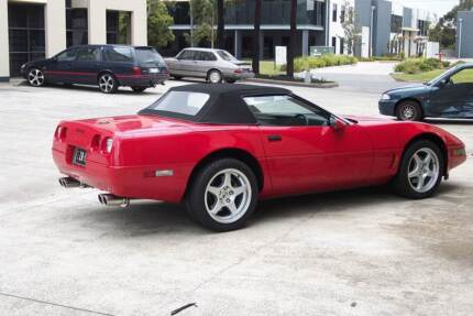 Corvette C4 Convertible 1988 Genuine 22,000 Miles from new Belgrave South Yarra Ranges Preview