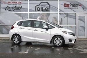 Honda FIT LX ***GARANTIE 10 ANS/200 000 KM*** LALLIER AUTO