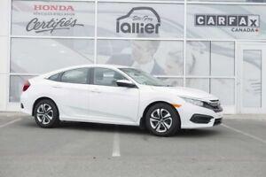 Honda Civic LX ***GARANTIE 10 ANS/200 000 KM*** LALLIER AUTO