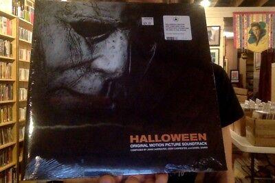 Halloween soundtrack LP sealed vinyl + download John Carpenter OST](John Carpenter Halloween Ost)