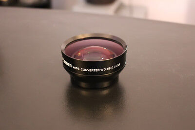 Canon WD-58 0.7 x 58 Wide Converter Lens Free Shipping BEST DEAL & NO CHINA