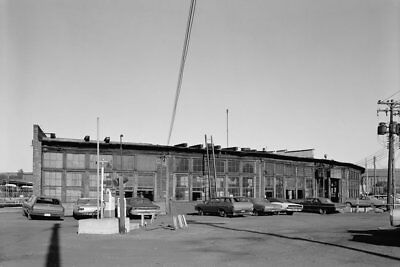 Erie Railroad Roundhouse Port Jervis NY New York 1971 View 8x12 photo