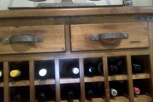 Timber Wine & Spirits Cabinet Marsfield Ryde Area Preview