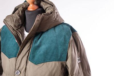 HUGO BOSS Naranja Plumón Abrigo Parka Odos 52 L/XL Chaqueta Winter Coat...