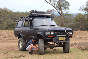 Massive 60 series landcruiser St Helens Park Campbelltown Area Preview