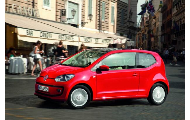 VW up! in Rom