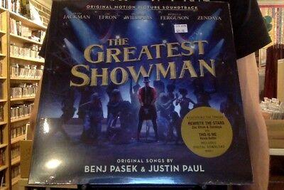The Greatest Showman Ost Lp Sealed Vinyl   Dl Benj Pasek Justin Paul Soundtrack