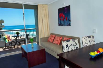 GREAT VIEW - BEACH FRONT 1BR APARTMENT Surfers Paradise Gold Coast City Preview