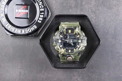 G-Shock  Men's GA700CM-3A Green Camo Digital Rubber Watch