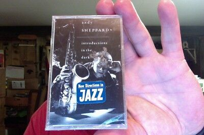 Andy Sheppard- Introductions in the Dark....new/sealed cassette tape