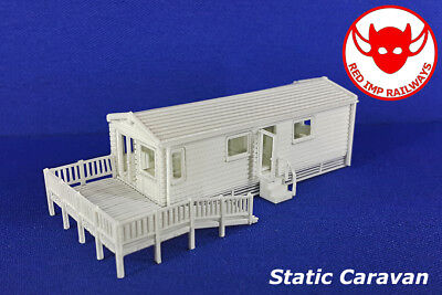 N Gauge - Static Caravan/ Luxury Holiday Home - Model Railway Kit for sale  Shipping to United States