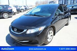 Honda Civic Sedan 2015 LX **WOW** FINANCEMENT FACILE !!!