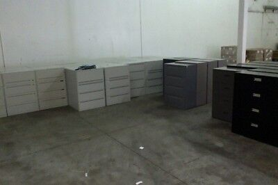 Over 100 Wide Lateral File Cabinets - Keys Available Delivery Available