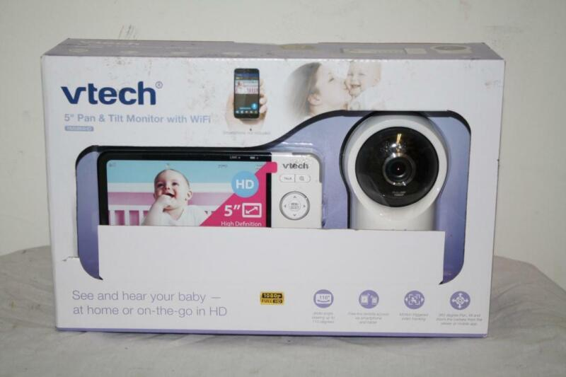 "Vtech RM5864HD Smart Wi-Fi Video Baby Monitor w/ 5"" High Definition Display Tilt"
