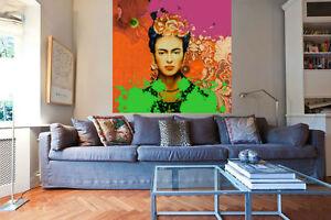 Frida Kahlo XXL Kunstdruck/Bild/Malerei/Poster/Pop Art/100 cm x  100 cm